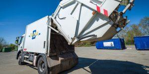 Vidage d'un camion-benne © Christophe GAGNEUX - PIXIM Communication