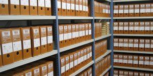 Prise en charge des archives dans les rayonnages