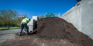 Tas de compost © Christophe GAGNEUX - PIXIM Communication